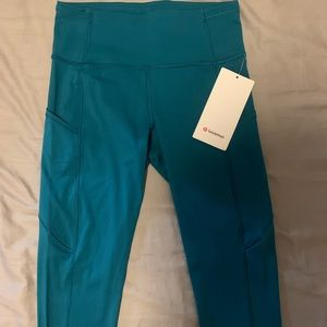 Lululemon fast and free high rise tight 25""